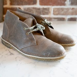 Clark's Originals Desert Boots Womens 10 Shoes